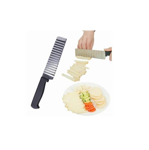 Nůž na vroubkované hranolky